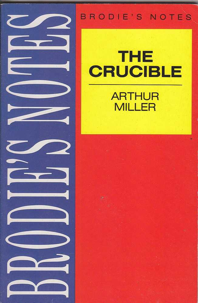 a review of the crucible by arthur miller Find helpful customer reviews and review ratings for the crucible at amazoncom read honest and arthur miller reaches a universal meaning when he says such.