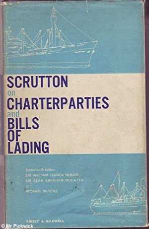 Scrutton on Charterparties and Bills of Lading: McNair, Mocatta &