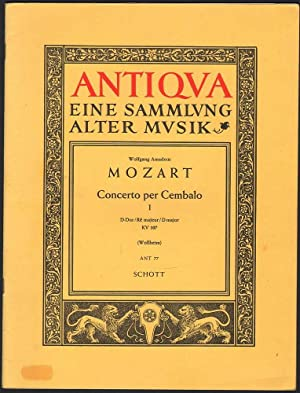Concerto for Piano / per Cembalo, 2 Violin & Bass: 3 Volumes: Mozart, Wolfgang