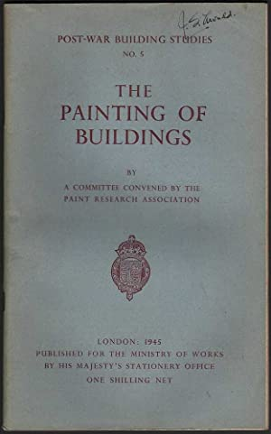 Post-War Building Studies: The Painting of Buildings: Various