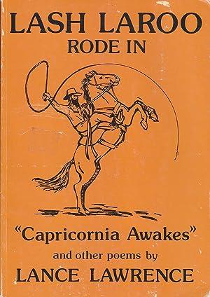 Lash Laroo rode in: Capricornia awakes: Lawrence, Lance, Lance