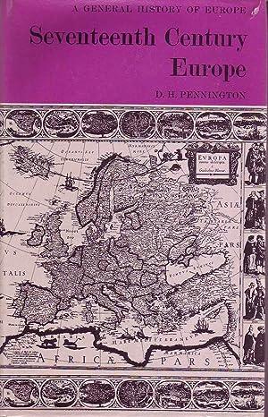 Seventeenth Century Europe: Pennington, D.H.