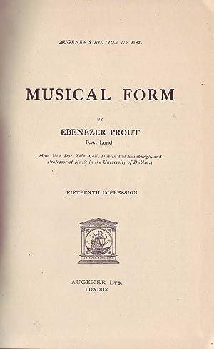 Musical Form: Prout, Ebenezer
