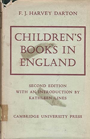 Children's Books in England: Darton, F. J. Harvey