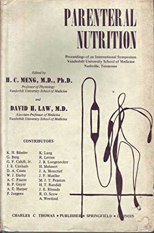 Parenteral Nutrition: Proceedings of an International Symposium Vanderbilt University School of ...
