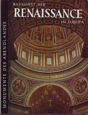Monumente des Abendlandes: Baukunst der Renaissance in Europa: Busch & Lohse (eds.), Harald / Bernd
