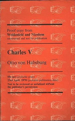 Charles V: von Habsburg, Otto