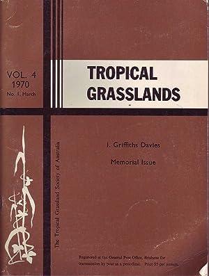 Tropical Grasslands: Vol 4. 1970, No. 1, March: Various