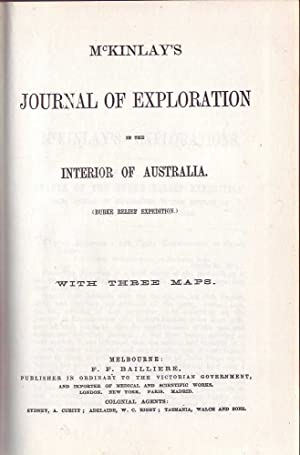 Journal of Exploration in the Interior of Australia: McKinlay, J.