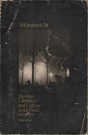 TriQuarterly 28: Russian Literature and Culture in: Various