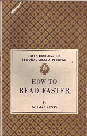 How to Read Faster: Lewis, Norman
