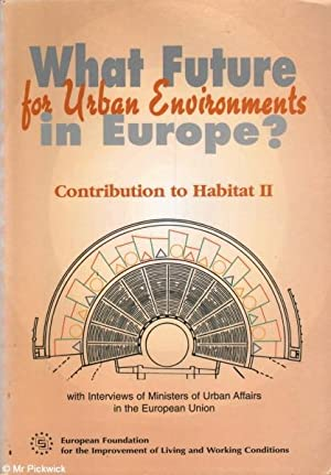 What Future for Urban Environment in Europe?