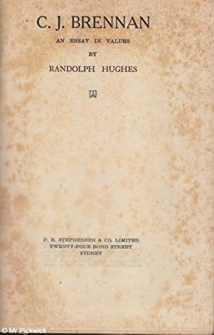 C.J. Brennan: An Essay in Values: Randolph Hughes