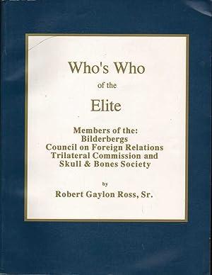 Who's Who of the Elite: Ross, Robert Gaylon