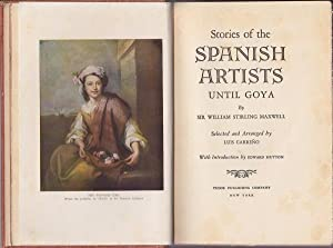 Stories of the Spanish Artists until Goya: Maxwell & Carreno, William Stirling / Luis