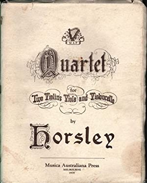 Quartet for Two Violins and Violincello: Horsley, Charles Edward