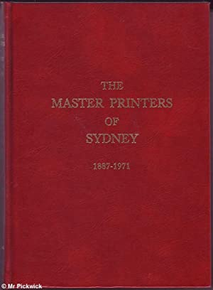 The Master Printers of Sydney, 1887-1971: Hunt, Howard