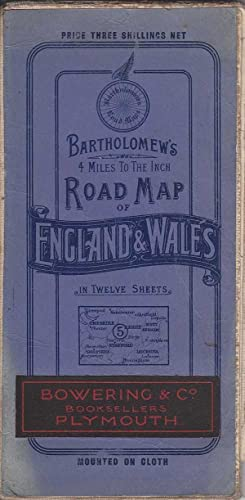 Bartholomew's 4 Miles to the Inch Road Map of England & Wales: Various