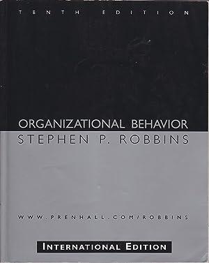 Organizational Behavior: Robbins, Stephen