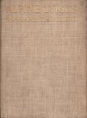 Alpine Lyrics: Thirlmere, Rowland