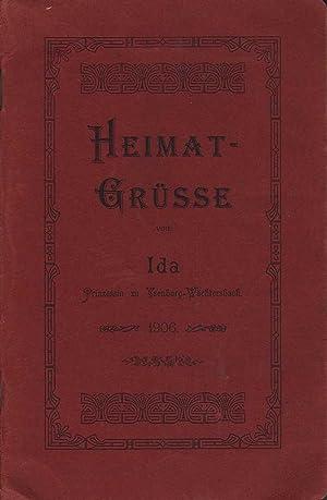 Heimatgrusse von Ida: Ida Prinzessin zu Ysenburg-Wachtersbach