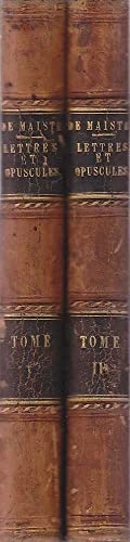 Lettres et Opuscules Inedits du Comte Joseph: de Maistre, Rodolphe