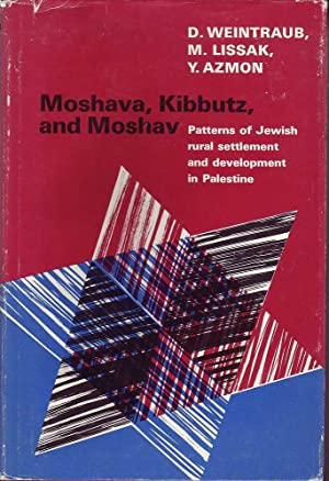 Moshava, Kibbutz and Moshav: Patterns of Jewish Rural Settlement and Development in Palestine: ...