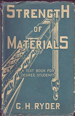 Strength of Materials (Cleaver-Hulme ed. with Jacket): Ryder, G. H.