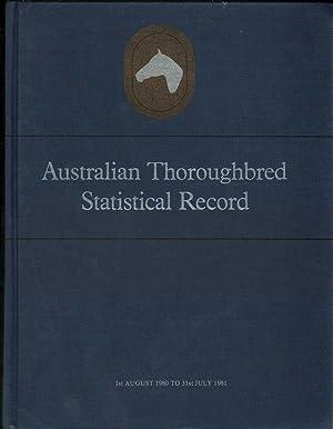 Australian Thoroughbred Statistical Record Vol. 4: Various