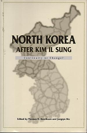 North Korea After Kim Il Sung: Continuity: Henriksen & Mo