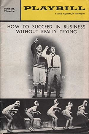 Playbill: How to Succeed in Business Without Really Trying - 46th St. Theatre: Mee (Ed.), Chas. L.