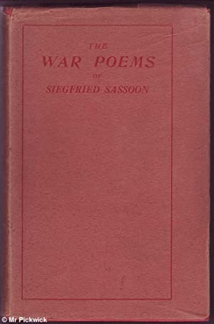 The War Poems (in Good Jacket): Sassoon, Siegfried