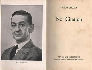 No Citation: Allan, James