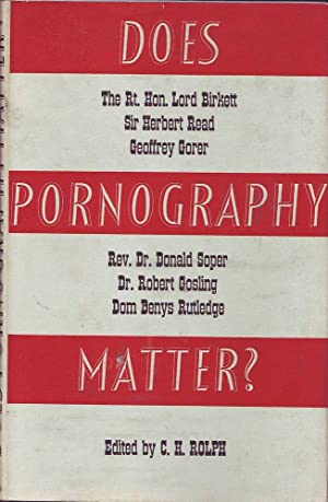 Does Pornography Matter?: Rolph (ed.), C.H.