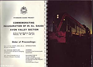 New Lifeline:Commemorating Inauguration of 3ft. 6in. Gauge Avon Valley Section: Various