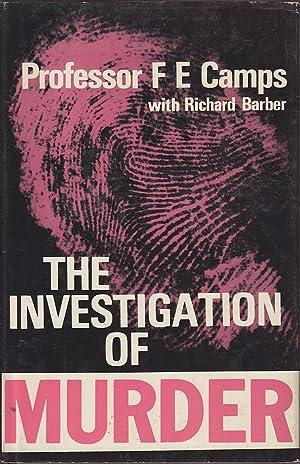 The Investigation of Murder: Camps & Barber, F.E. / Richard
