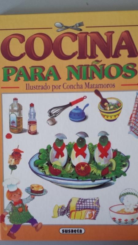 COCINA DIVERTIDA PARA NIÑOS - M. Ángel Bibian. Ilustrado por Concha Matamoros
