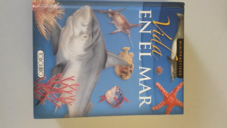 VIDA EN EL MAR. Animales marinos, desde los corales hasta los poderosos tiburones - Michael Wright y Giles Sparrow