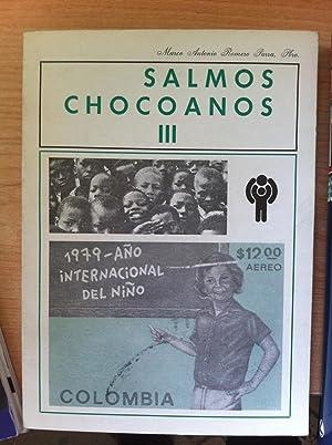 Salmos chocoanos III. Año internacional del niño,: Marco Antonio Romero