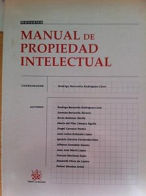 Manual de propiedad Intelectual.: VVAA