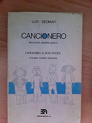 Cancionero, Educación Primaria: Canciones a dos Voces: BEDMAR, LUIS