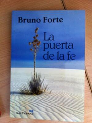 LA PUERTA DE LA FE: Bruno Forte
