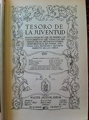 TESORO DE LA JUVENTUD. Enciclopedia en la que se reúnen los conocimientos que todas las ...