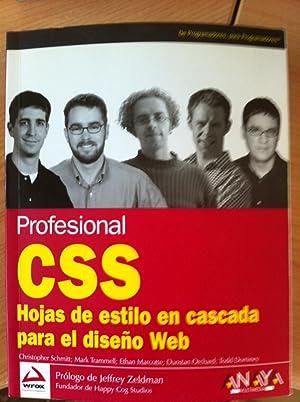 CSS. Hojas de Estilo en Cascada Para el diseño Web: Christopher Schmitt, Mark Trammell, ...