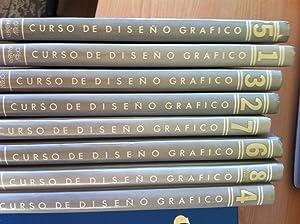 CURSO DE DISEÑO GRÁFICO ORBIS FABBRI. Volúmenes 1 a 8 (Obra completa). PLAN DE...