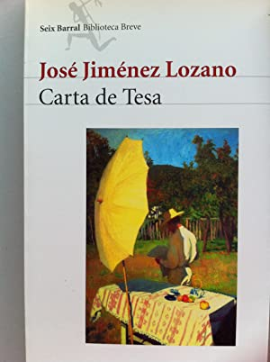 Carta de Tesa: José Jiménez Lozano