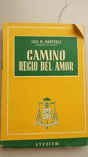 Camino regio del amor: Martinez, Luis M.