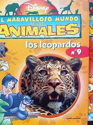 El Maravilloso mundo de los animales nº 9: Los Leopardos.: Disney