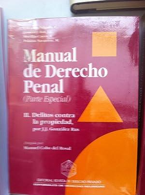 MANUAL DE DERECHO PENAL. Parte especial II: C. Carmona Salgado