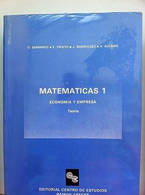 MATEMATICAS 1. Economia y Empresa. Teoria.: Samamed, O. /
